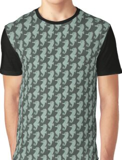 Seahorse Watercolor  Graphic T-Shirt