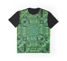 Intricately, Green Graphic T-Shirt