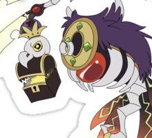 Ruler of the Sky- Kingdom Hearts 358/2 Days Sticker