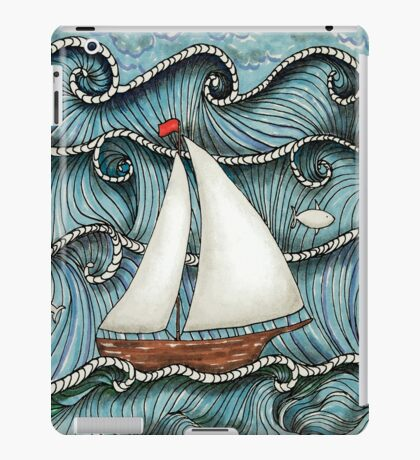 On The Sea by Leslie Berg 2014 iPad Case/Skin