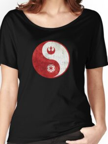 Star Wars Yin-Yang Women's Relaxed Fit T-Shirt