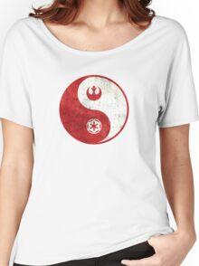 Star Wars Yin-Yang Women's Relaxed Fit T-Shirt