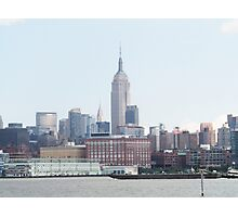 Empire State Building View Photographic Print