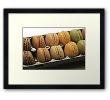 """Macarons by """"Provence Provence"""" Framed Print"""