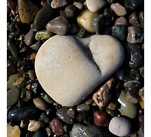 Heart Stone #3 Photographic Print