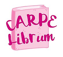CARPE LIBRUM (Seize the book!) Photographic Print