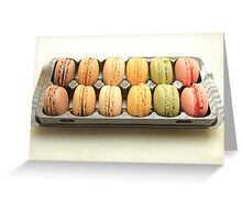 """Macarons by """"Provence Provence"""" Greeting Card"""