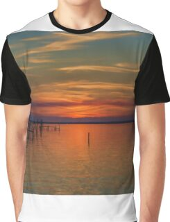 Sunset on the Bay 2 Graphic T-Shirt