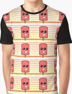 The Animated Foods Collection - Ice Creamy Graphic T-Shirt
