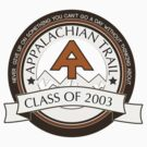 Appalachian Trail- Class of 2003 - Don't Give Up by Jeff East