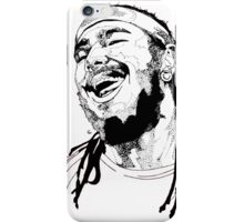Post Malone Drawing iPhone Case/Skin