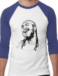 Post Malone Drawing Men's Baseball ¾ T-Shirt