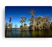A clear day on Lake Martin Canvas Print