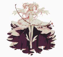 Ultimate Madoka Magica - White One Piece - Short Sleeve