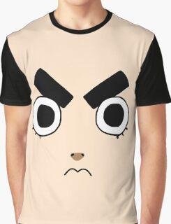 Rock Lee Face Graphic T-Shirt