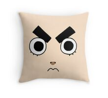 Rock Lee Face Throw Pillow