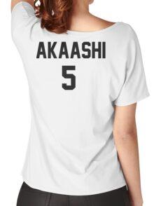 Haikyuu!! Jersey Akaashi Number 5 (Fukurodani) Women's Relaxed Fit T-Shirt