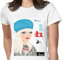 London Fashion Woman Womens Fitted T-Shirt