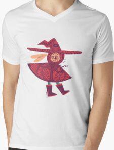 Willis' Early Design Mens V-Neck T-Shirt