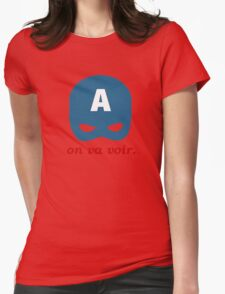 On Va Voir Womens Fitted T-Shirt