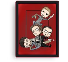 Supernatural - Demon Dean Rules the Roost Canvas Print