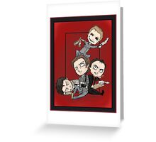 Supernatural - Demon Dean Rules the Roost Greeting Card