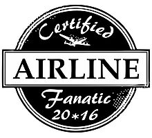 Airline Fanatic Photographic Print