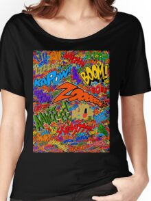 Onomatopoeia Collage #2 (2 of 2) Women's Relaxed Fit T-Shirt