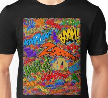 Onomatopoeia Collage #2 (2 of 2) Unisex T-Shirt