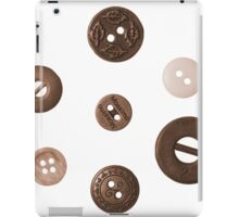 Button and Weight iPad Case/Skin
