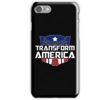 Transform America  iPhone Case/Skin