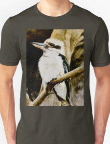 Kookaburra Sits in the Old Gum Tree Unisex T-Shirt