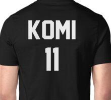 Haikyuu!! Jersey Komi Number 11 (Fukurodani) Unisex T-Shirt