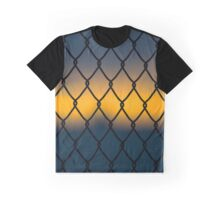 Chain-Like Fence Detail | East Marion, New York Graphic T-Shirt