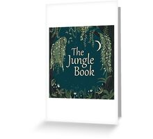 the jungle book movie Greeting Card