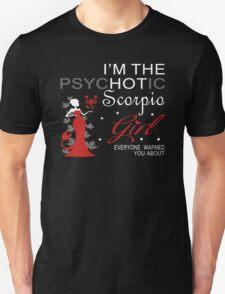 Spychotic Scorpio Girl Unisex T-Shirt