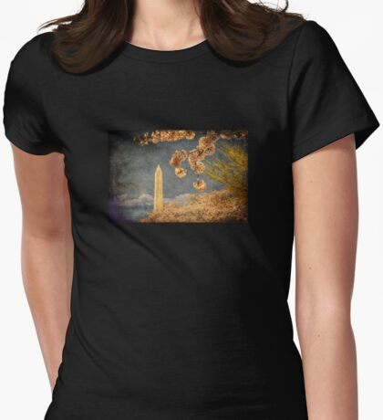 The Washington Monument Womens Fitted T-Shirt