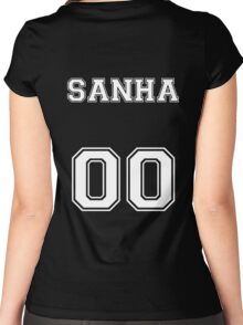 Sanha 00  Women's Fitted Scoop T-Shirt