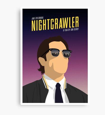 Nightcrawler film poster Canvas Print
