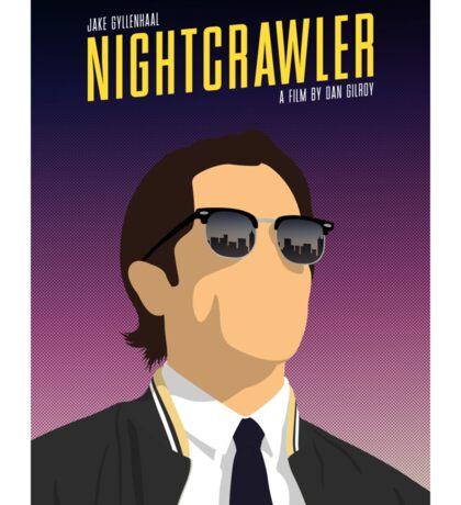 Nightcrawler film poster Sticker