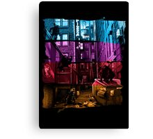 Anchovy Alley Canvas Print