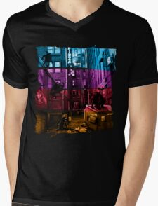 Anchovy Alley Mens V-Neck T-Shirt