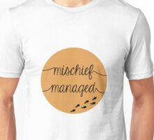 Mischief Managed Unisex T-Shirt