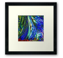 ABSTRACT OVERFLOW GLEAM  Framed Print