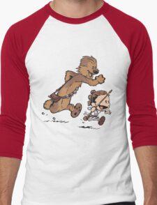 New Adventures Awaken Men's Baseball ¾ T-Shirt