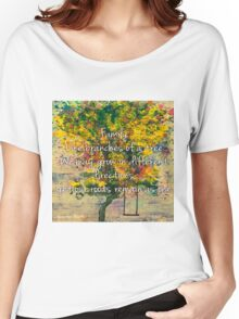 Family Tree Women's Relaxed Fit T-Shirt