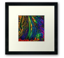 ABSTRACT OVERFLOW  Framed Print