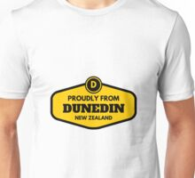 Proudly From Dunedin New Zealand Unisex T-Shirt