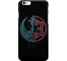 Galaxy Divided iPhone Case/Skin