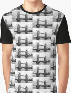 Tower of London- Black & White Graphic T-Shirt